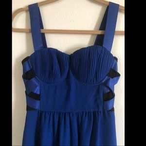BeBe Royal Blue Dress